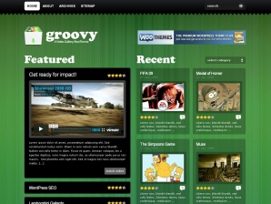Groovy by Woothemes - Wordpress Video Template
