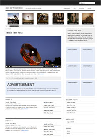 High Def by Graph Paper Press - Wordpress Video Theme